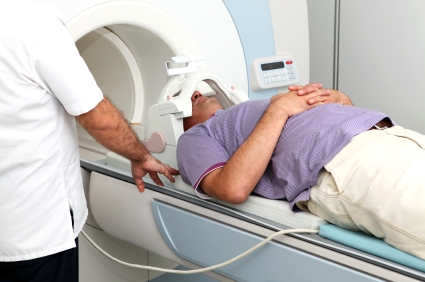 MRI machine to stage mesothelioma